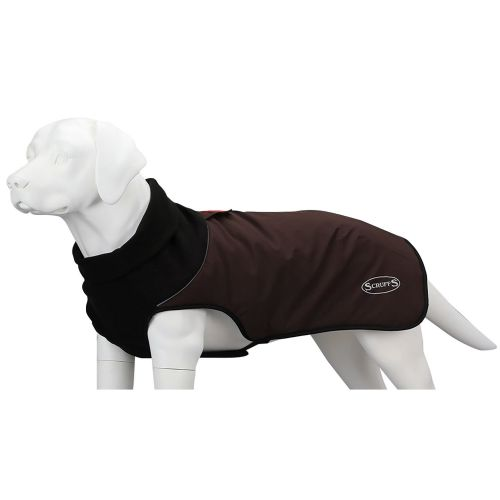 Scruffs - Thermal Quilted Dog coat - Chocolate